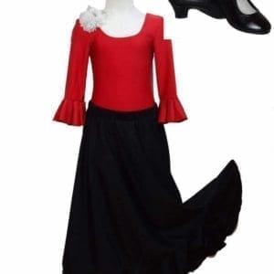 Flamenco chica y chico