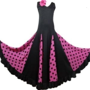 Flamenco dress fushia