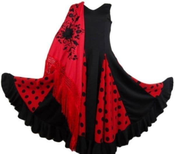 vestido para niña para el Flamenco