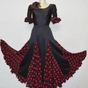 Falda de sevillana o flamenco