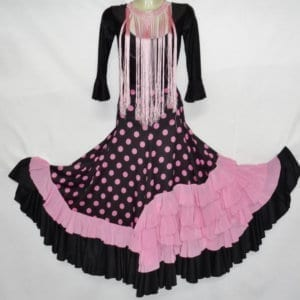 Falda de flamenco de mujer