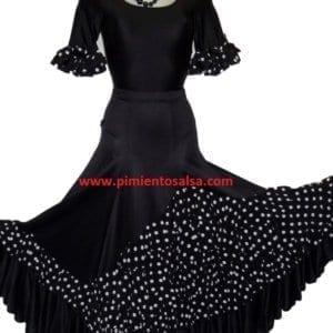 Falda de mujer para el flamenco