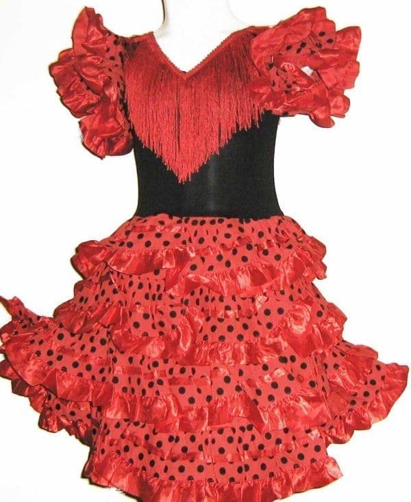 Vestido de niña para el Flamenco
