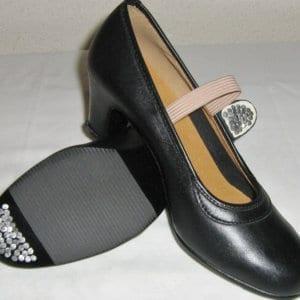 Zapato de iel para empezar el Flamenco
