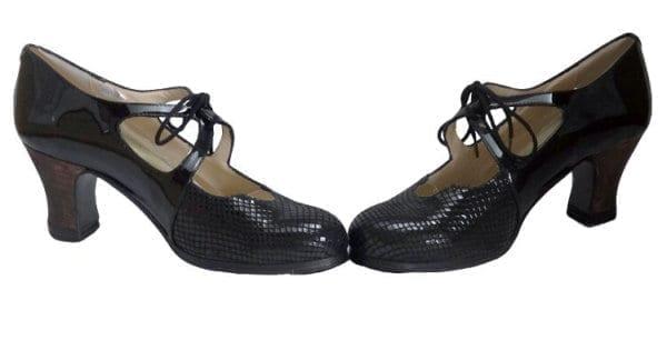 zapatos de Flamenco Dulce serpiente