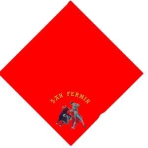 panuelo cuadrado San-Fermin
